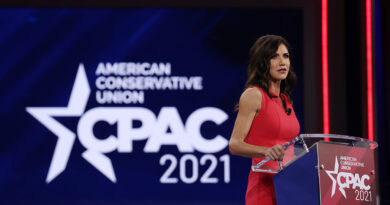Noem slams Covid shutdowns, defends South Dakota's record at CPAC