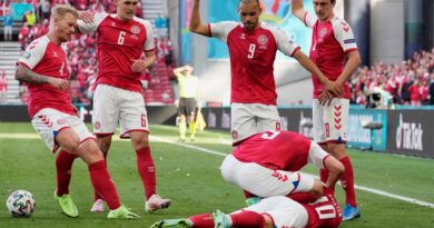 Euro 2021: Denmark vs. Finland suspended after Christian Eriksen collapses on the field
