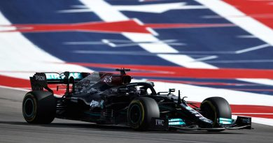 Formula 1 qualifying results: Starting grid for 2021 United States Grand Prix